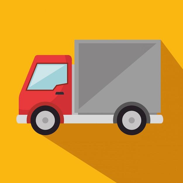 Icona di servizio camion di consegna Vettore gratuito