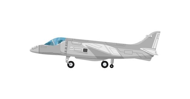 Icona isolata di jet militari Vettore Premium