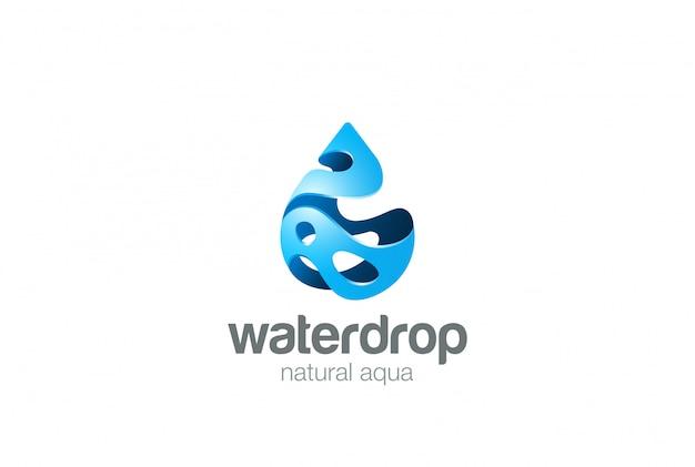 Icona logo. stile splash. Vettore gratuito