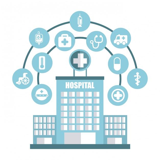Icona medica Vettore Premium