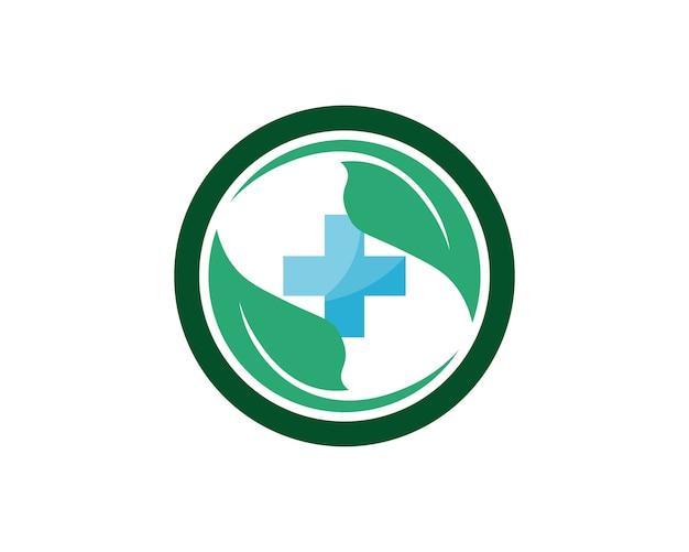 Icone del modello di logo e simboli dell'ospedale app Vettore Premium