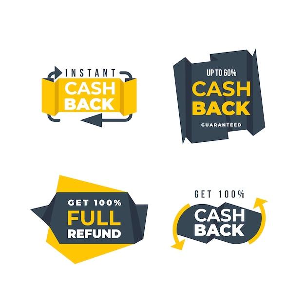 Icone di risparmio e rimborso del denaro Vettore gratuito