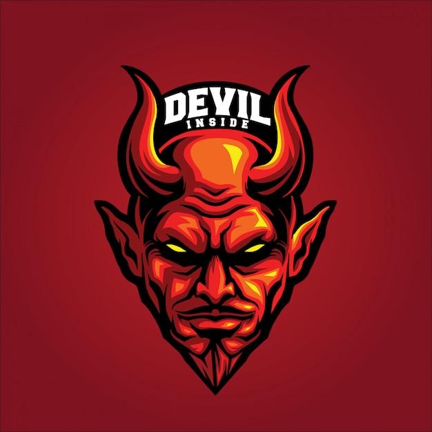 Il diavolo dentro Vettore Premium