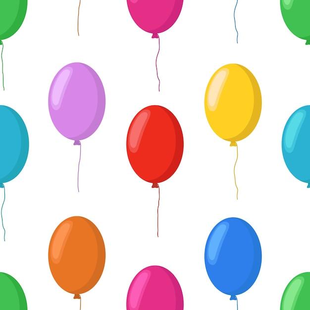 Il fumetto balloons il modello senza cuciture, elementi del partito Vettore Premium