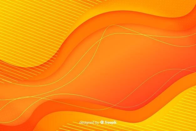 Il liquido variopinto di pendenza modella la priorità bassa Vettore gratuito