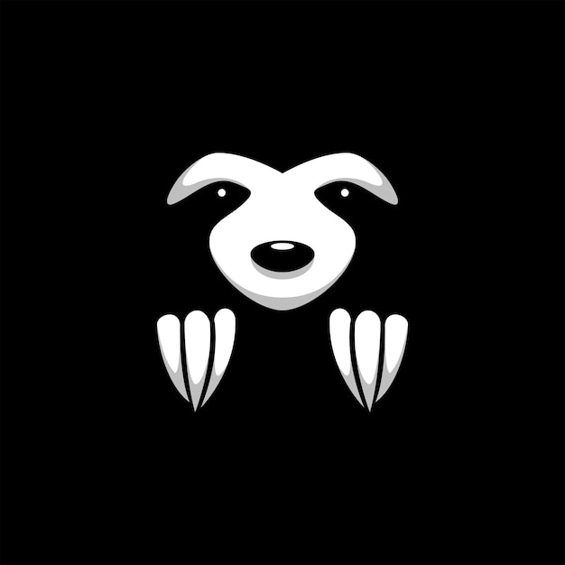 Illustrazione animale bradipo Vettore Premium