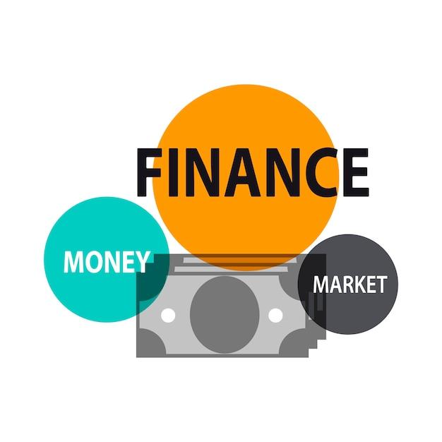 Illustrazione del concetto finanziario Vettore gratuito