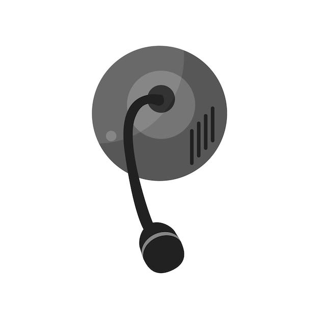 Illustrazione del microfono Vettore gratuito