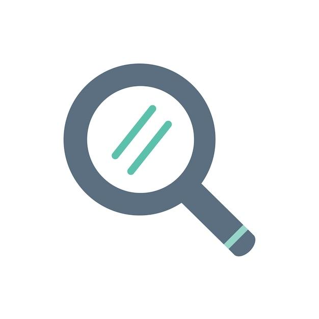 Illustrazione dell'icona della lente d'ingrandimento Vettore gratuito
