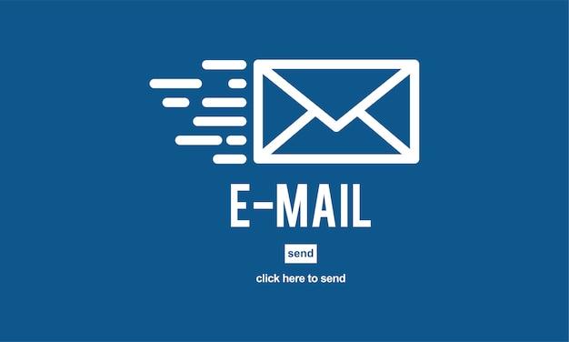 Illustrazione dell'icona della posta Vettore gratuito
