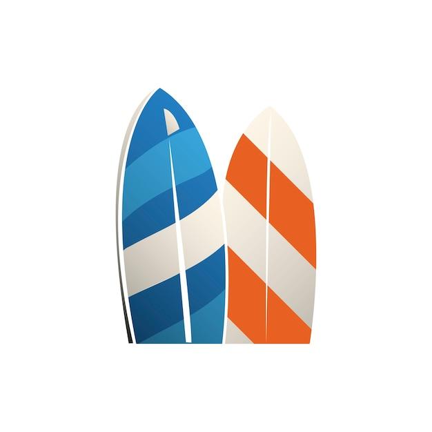 Illustrazione dell'icona della spiaggia Vettore gratuito