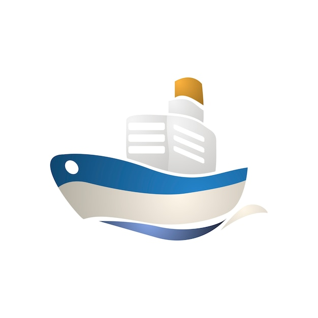 Illustrazione dell'icona di trasporto Vettore gratuito