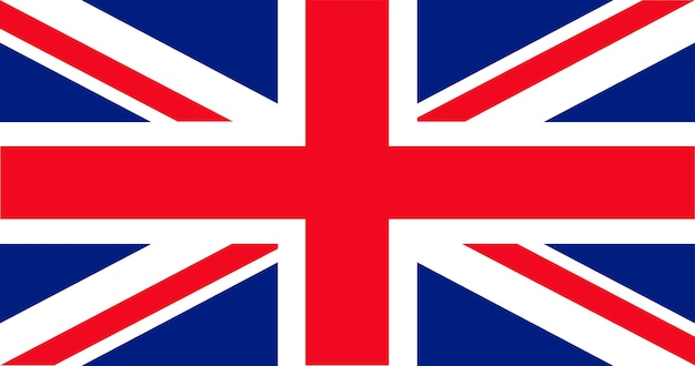 Illustrazione della bandiera del regno unito Vettore gratuito