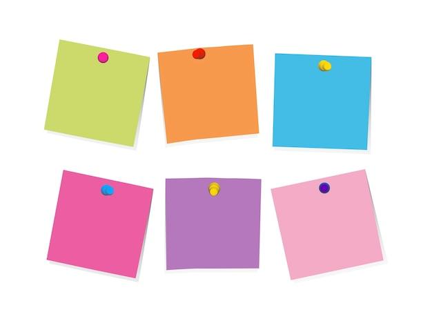 Illustrazione della nota di promemoria Vettore gratuito