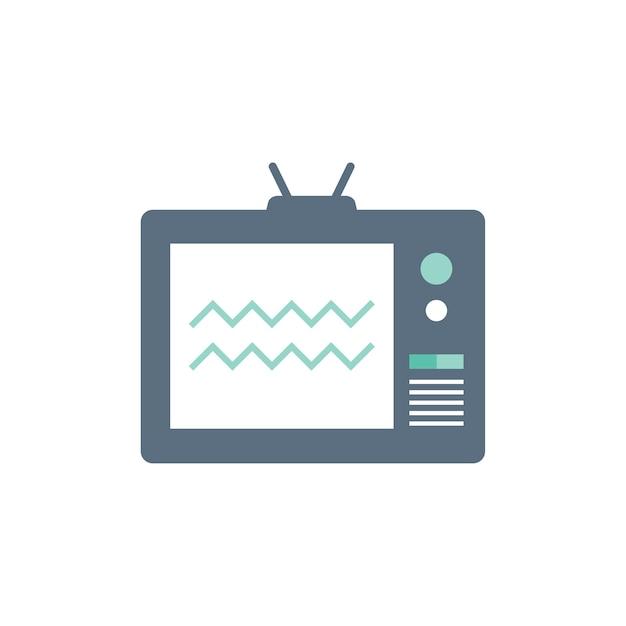 Illustrazione della televisione Vettore gratuito