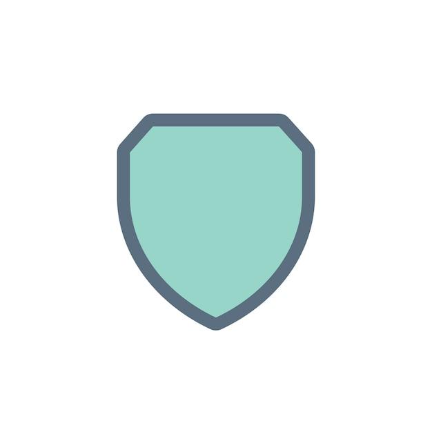 Illustrazione dello scudo di protezione Vettore gratuito