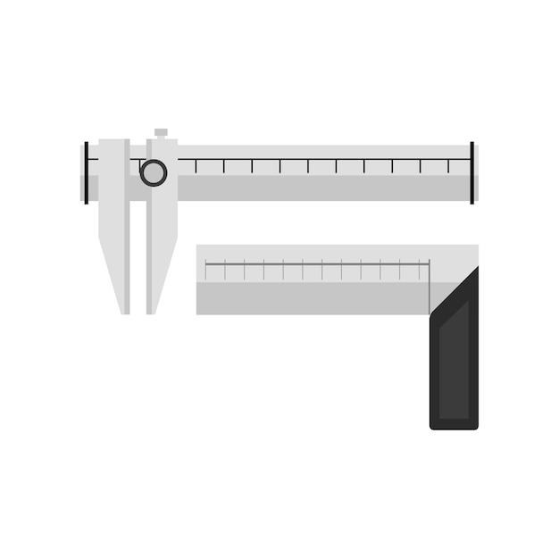 Illustrazione di calibro Vettore gratuito