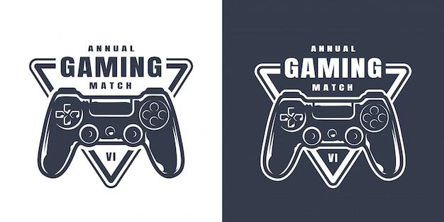 Illustrazione di controller di gioco vintage Vettore gratuito