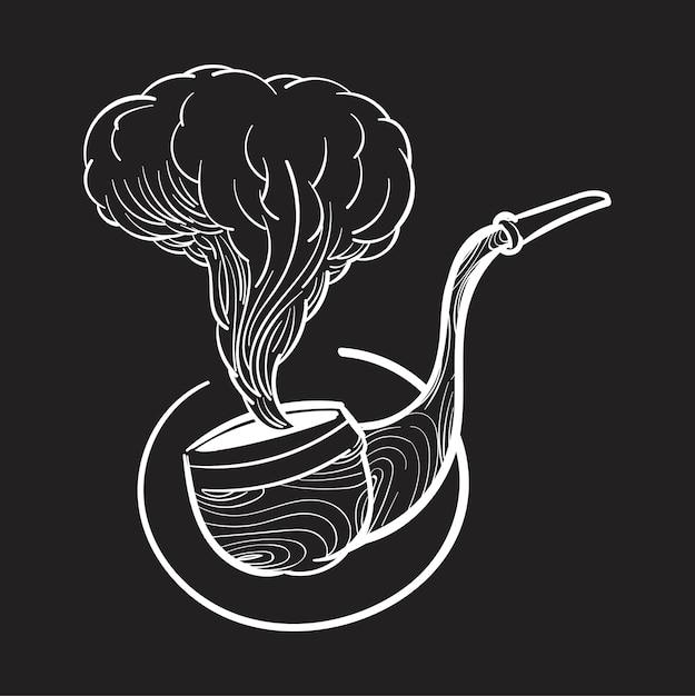 Illustrazione di disegno a mano di concetto di stile hipster Vettore gratuito