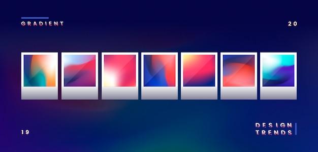 Illustrazione di gradiente Vettore gratuito