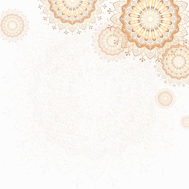 Illustrazione di mandala Vettore gratuito