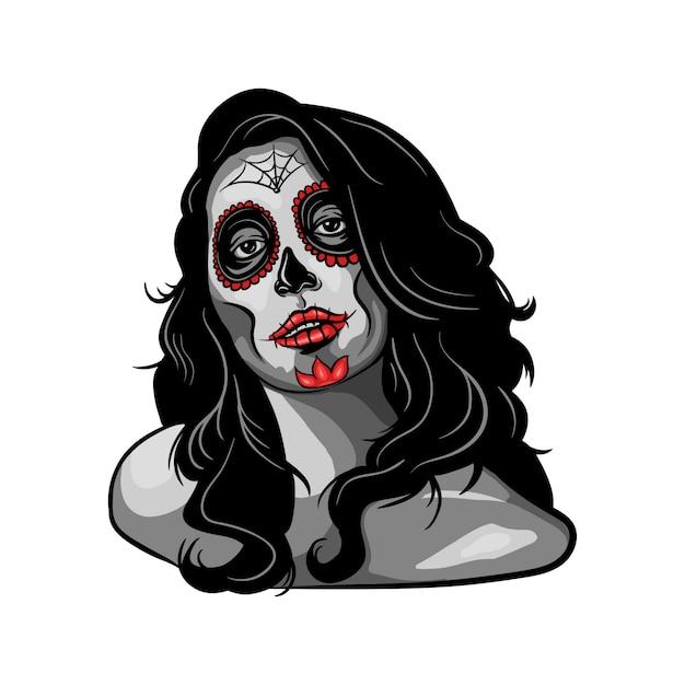 e594744e62cf Illustrazione di ragazza muerte
