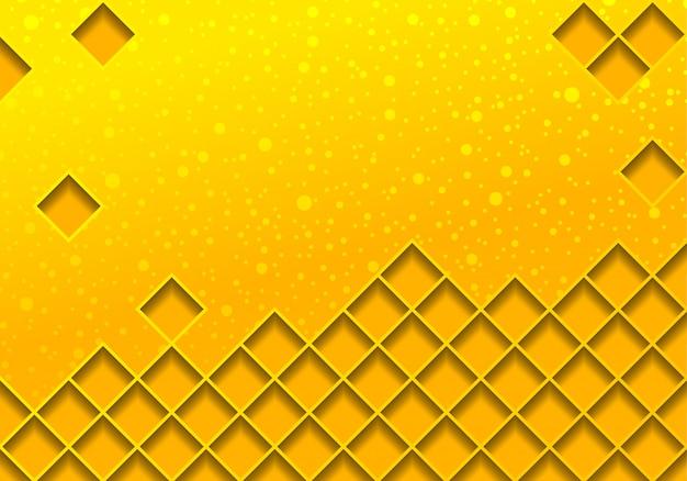 Illustrazione di sfondo oro con rete metallica Vettore Premium
