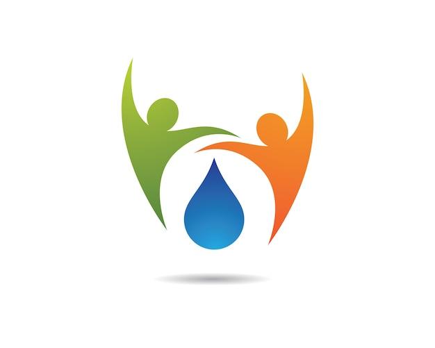 Illustrazione di simbolo di ecologia Vettore Premium