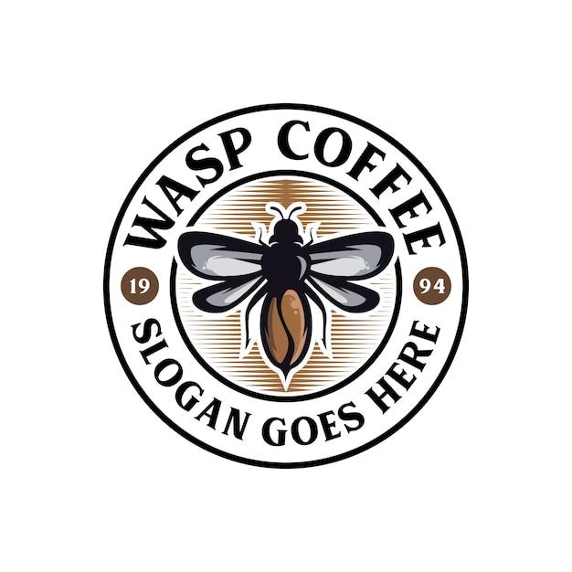 Illustrazione di vespe Vettore Premium