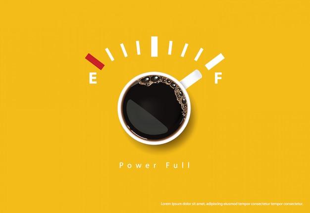 Illustrazione di vettore dei flayers della pubblicità del manifesto del caffè Vettore Premium