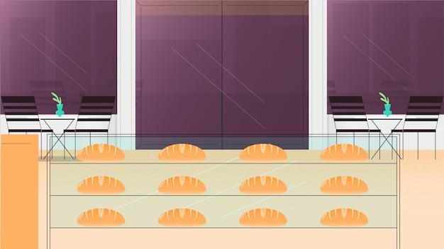 Illustrazione di vettore del fondo del forno Vettore Premium