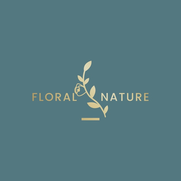 Illustrazione floreale botanica Vettore gratuito
