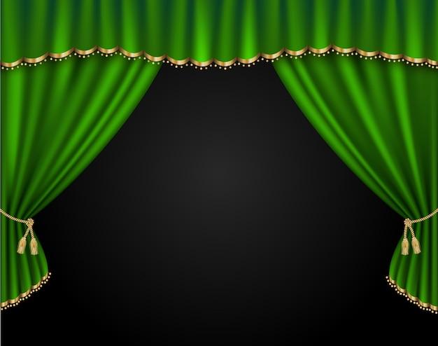 Illustrazione realistica di vettore della tenda Vettore Premium