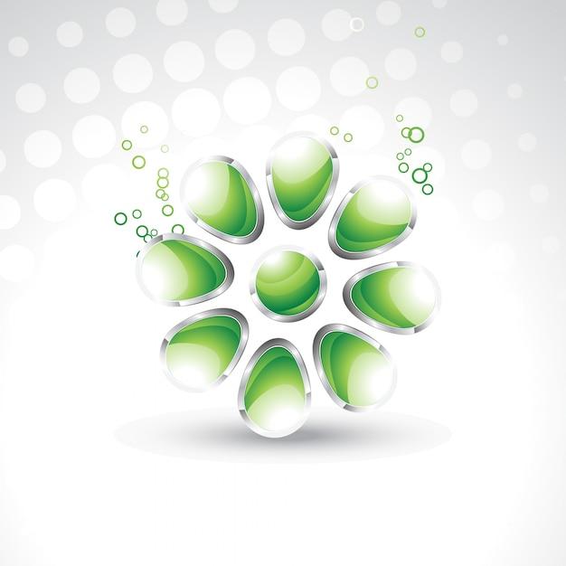 Illustrazione vettoriale di cristalli 3d di disegno for Disegno 3d gratis