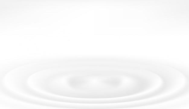 Illustrazione vettoriale di gocce di latte Vettore Premium