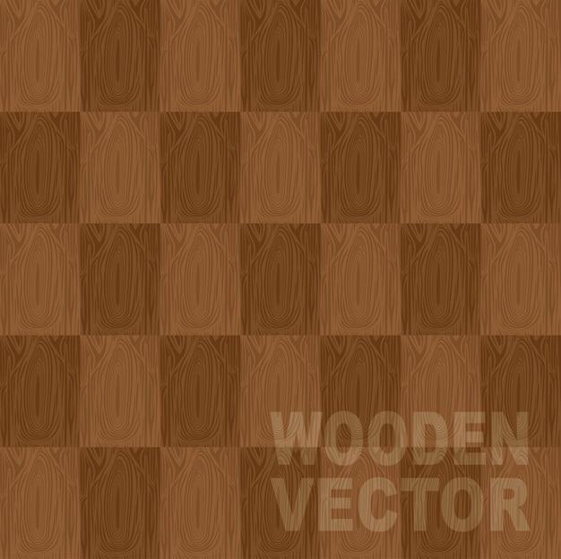 Illustrazione vettoriale di legno marrone vettoriale sfondo Vettore Premium