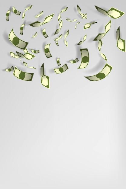 Illustrazione vettoriale di sacco di soldi sfondo Vettore Premium