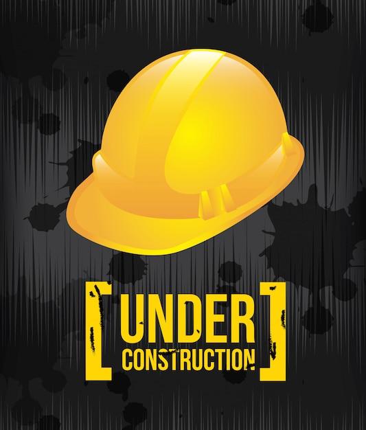 In costruzione Vettore Premium