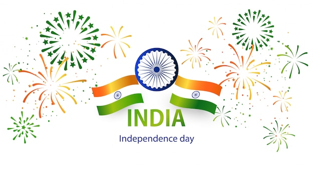 Independence day india. Vettore Premium