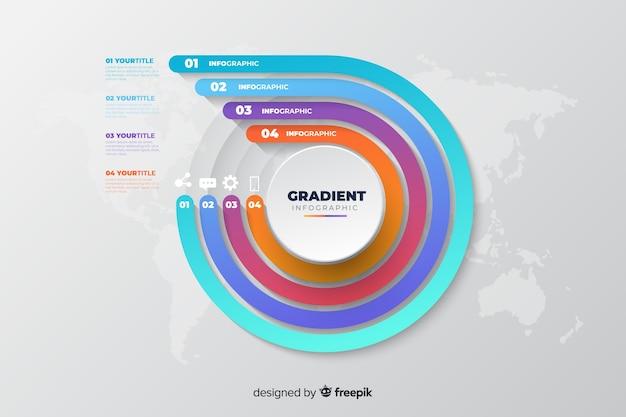 Infografica Vettore gratuito