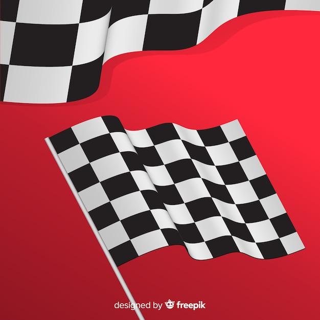 Inizia bandiera Vettore gratuito