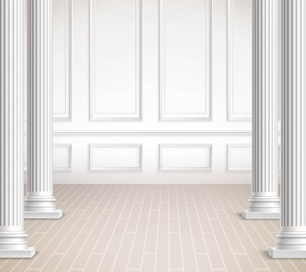 Interior design classico Vettore gratuito