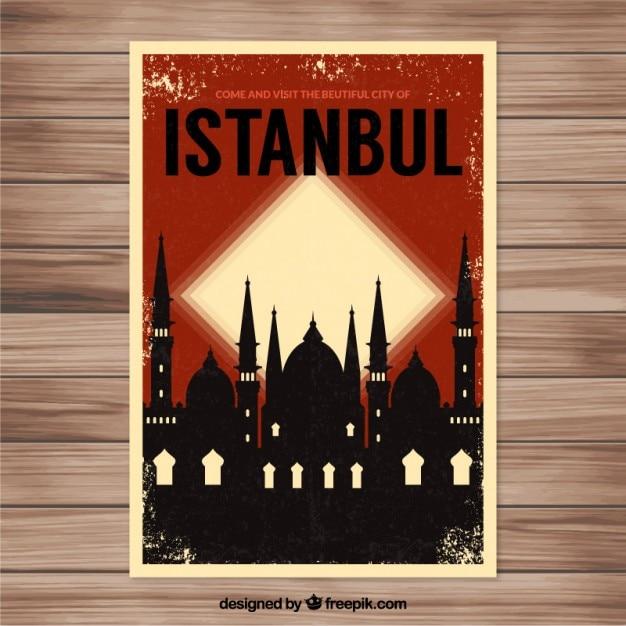 Istanbul volantino Vettore gratuito