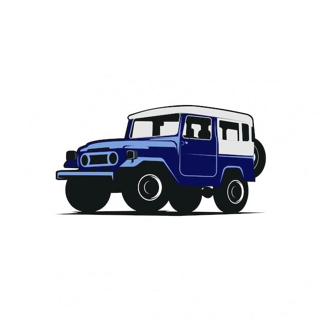 Jeep fuoristrada Vettore Premium