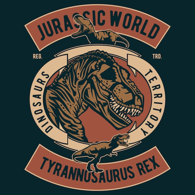 Jurassic world Vettore Premium