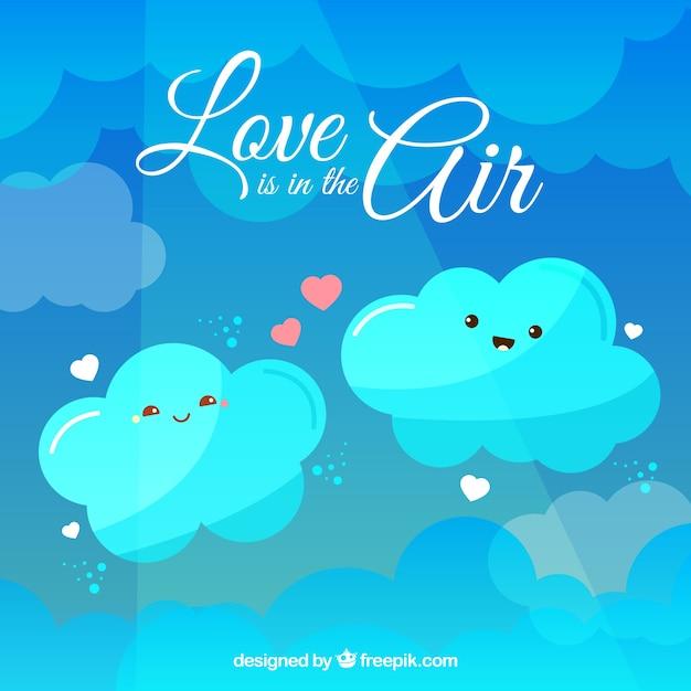 L'amore è nell'aria Vettore gratuito