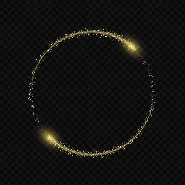 L'effetto bagliore magico delle stelle scoppia Vettore Premium