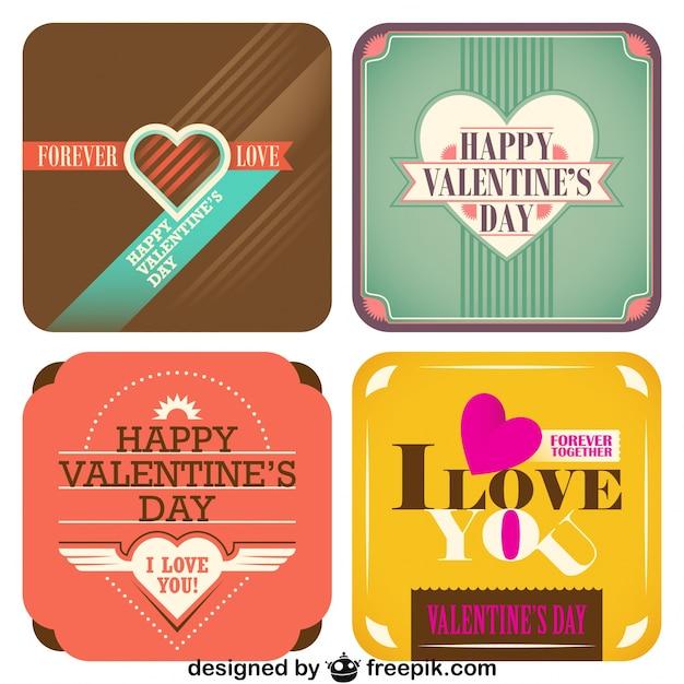La collezione di san valentino del design cards stile for La collezione di design del sater