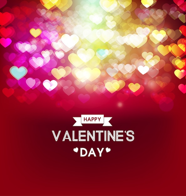 La mano ha abbozzato il testo felice di san valentino come distintivo / icona del logotype di san valentino. Vettore Premium