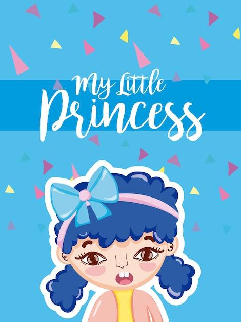 La mia piccola principessa Vettore Premium